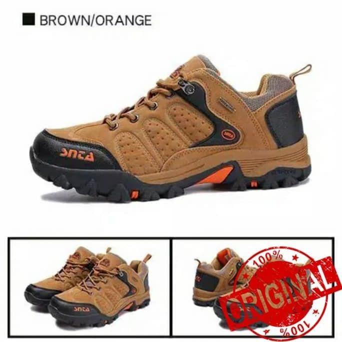 Terbaik Sepatu Hiking - Sepatu Gunung - Sepatu Outdoor Pria Snta Low - e2b575b7d7