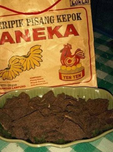 Dijual Keripik Pisang Coklat Aneka Yen-Yen Lampung Kemasan 225G