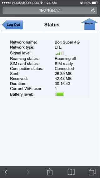 Antena Indoor Portable Mimo-X2 Bolt 4G Slim 2 Max 2 Huawei E5577