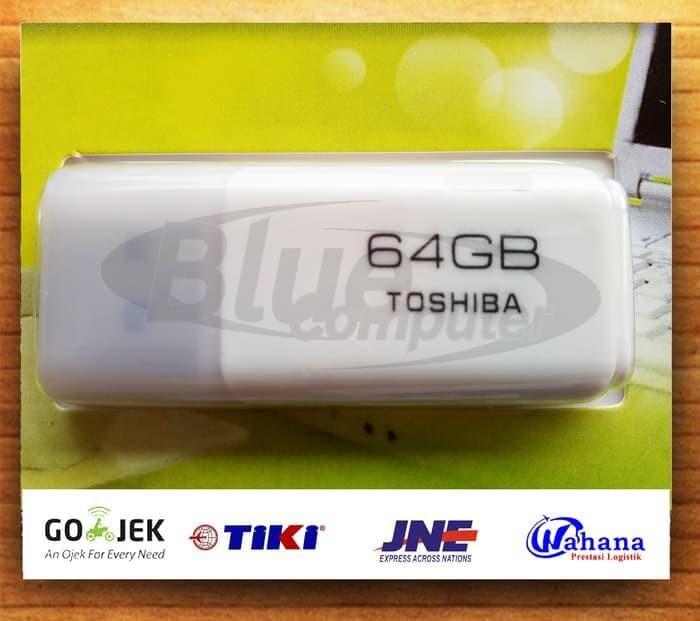 Flashdisk Toshiba 64Gb/ Flash Disk /Flash Drive Toshiba 64 Gb - Putih