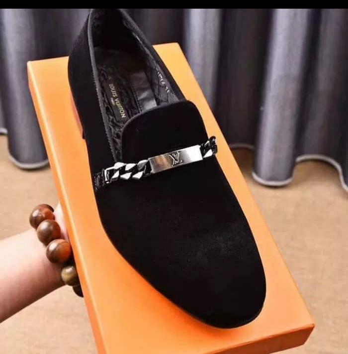Jual Sepatu Pria Branded loafers louis vuitton KW Mirror - dikas3t ... 15437b99a4