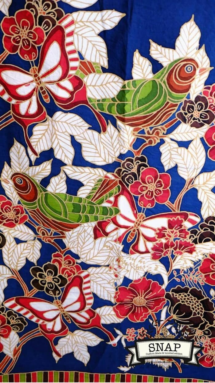 Jual SALE Batik Tulis Motif Burung & Kupu Kupu Batik Tulis Motif Burung & Kota Semarang MILANI SHOPSHOP