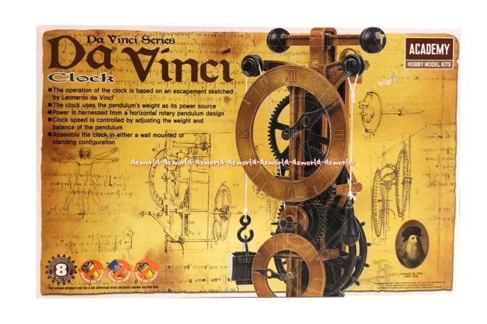 harga Academy model kit da vinci clock membuat jam Tokopedia.com