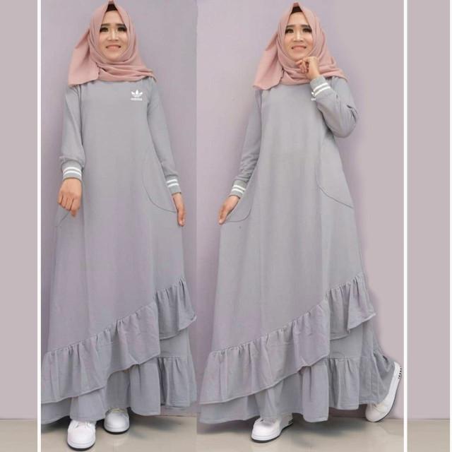 Atasan Wanita Muslim - Maxi Dress Didas - Dzikri Moeslim Collection 1be2845161
