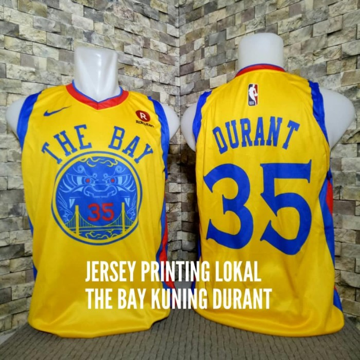 4d49be970 Jual Jersey Basket Printing NBA Golden State Warriors Kevin Durant ...