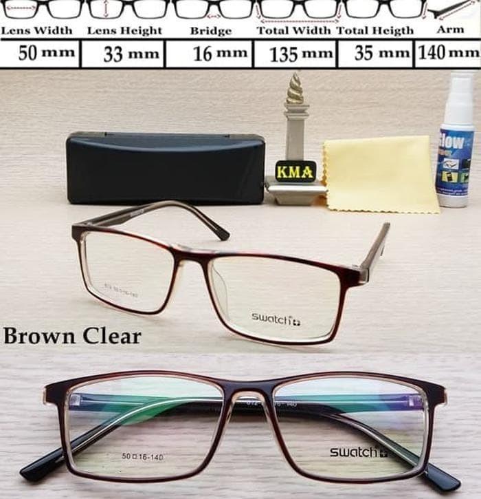 Segini Daftar Harga Termurah Frame Kacamata Swatch Murah Terbaru ... 0780810d7a