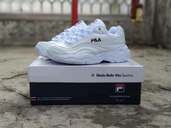 Jual Fila X Folder Women Import   Sepatu Casual Wanita Fila White ... eed5180a08