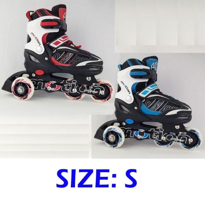 Jual Sepatu Roda BAJAJ Ban KARET   Inline Skate PU Wheels Anak dan ... dc63db860e