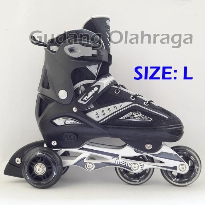 Jual Sepatu Roda BAJAJ Ban KARET   Inline Skate PU Wheels Anak dan ... 13e1c63066