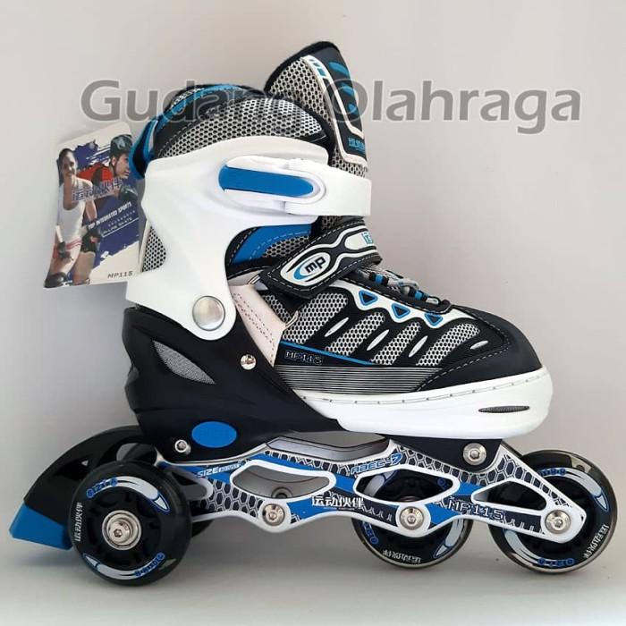 Jual Sepatu Roda BAJAJ Ban KARET   Inline Skate PU Wheels Anak dan ... c0279f639a