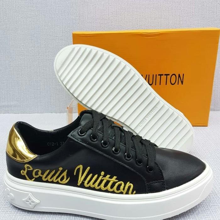 b86e13083b Jual sepatu Wanita LV Embroidery YC-OV2-1 Time Out Trainer Sneaker -  Jakarta Pusat - MyOnlineSolution | Tokopedia