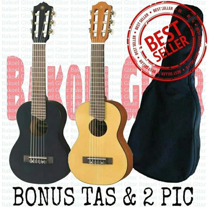 Foto Produk Gitarlele/gitar lele/gitar mini/gitar kecil/gitar doremi - Cokelat Muda dari dapid bakoel gitar