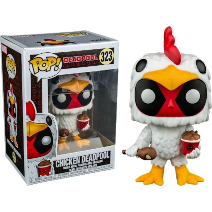 Vinyl Deadpool Chicken Deadpool Exclusive Pop