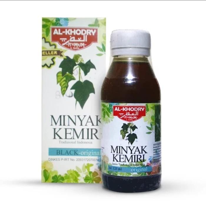 Minyak Kemiri Al Khodry Black Original Penumbuh Rambut dan Jenggot
