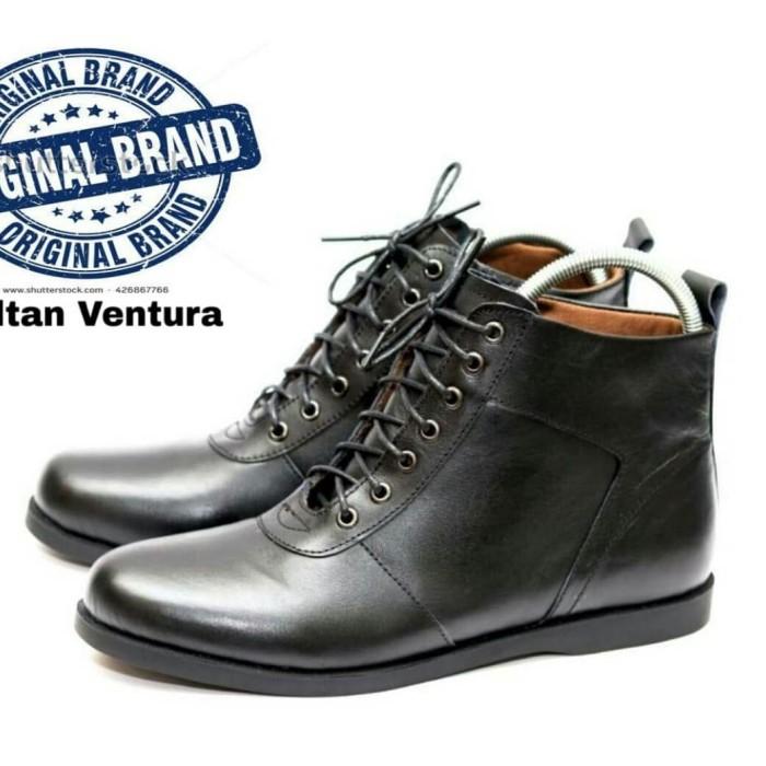 Jual sepatu boots pria sultan ventura kulit asli berkualitas ... fc4101dbbd