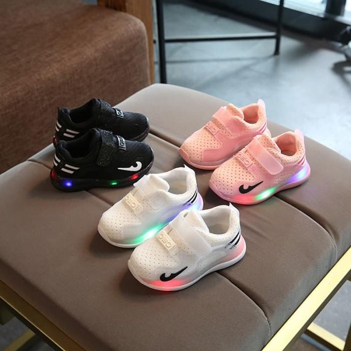 Update Harga Sepatu Anak LED Usia 1-6 Tahun Untuk Anak Perempuan Dan ... b1faae8600
