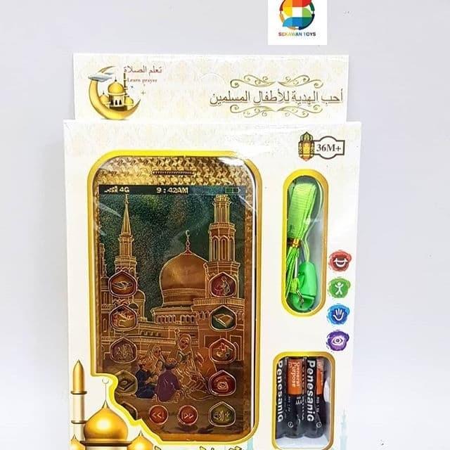 Foto Produk Mainan hp anak muslim/ handphone edukasi islam dari Sekawan Toys