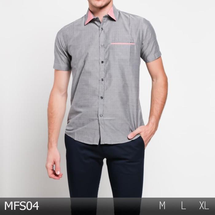 harga Baju casual  / kemeja  modern pria / baju pendek / atasan  odf182 Tokopedia.com