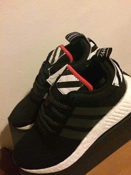 ccd8563995972 Jual Adidas NMD R2 tokyo black white premium - Kab. Bandung ...