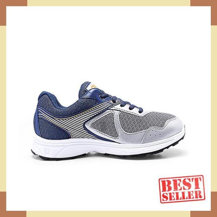 Jual Ardiles Men Kamikaze Sepatu Sneakers Kasual Abu Abu Navy ... 6173f4b727