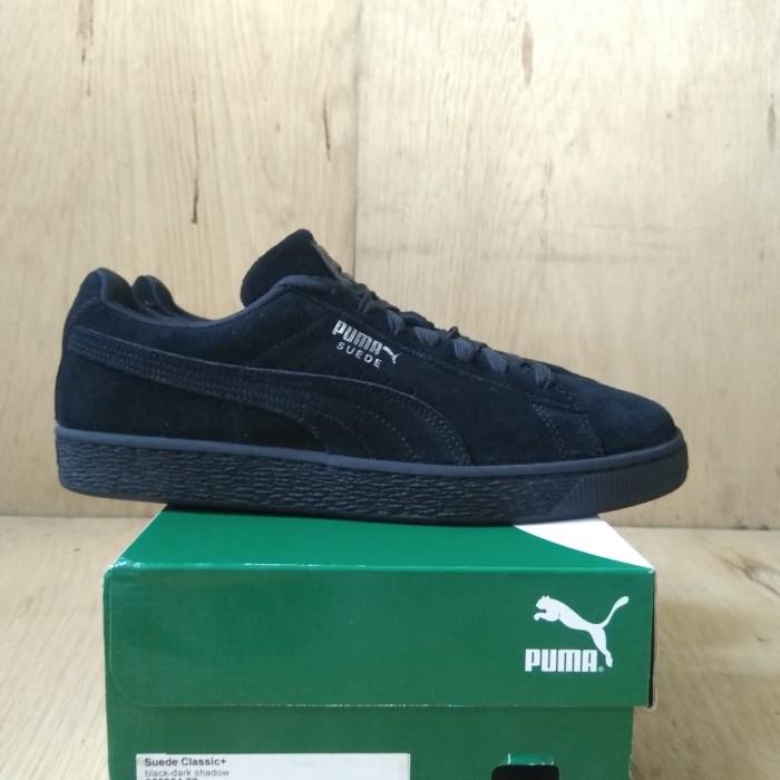 cheap for discount 634ca 5433e Jual Puma Suede Classic Black Dark Shadow Original - Kota Yogyakarta -  Second Hugos | Tokopedia