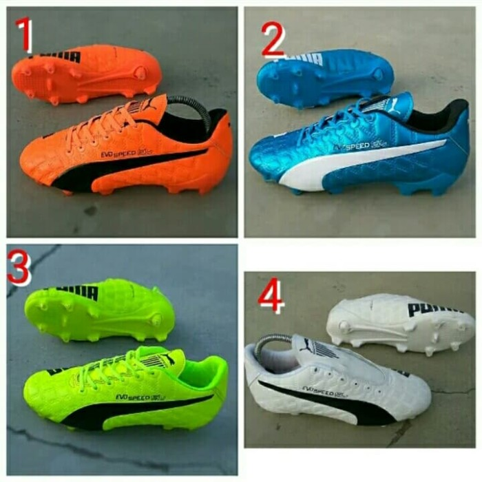 Jual Sepatu Bola Puma evo speed Komponen ori IMPORT - Acaliosport ... 6c4b26ec5e