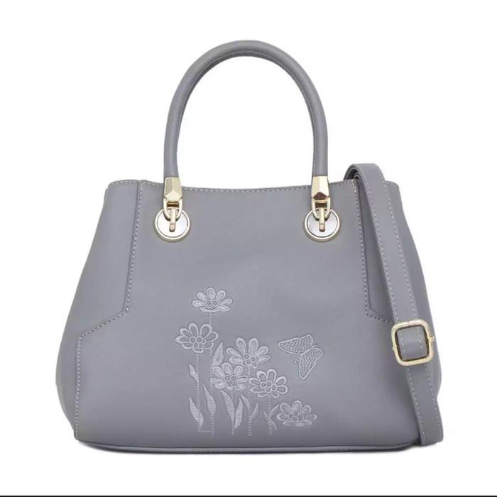288e2cf7a1f Jual Tas Wanita Elizabeth Bag Theola Handbag Grey - Kota Semarang ...