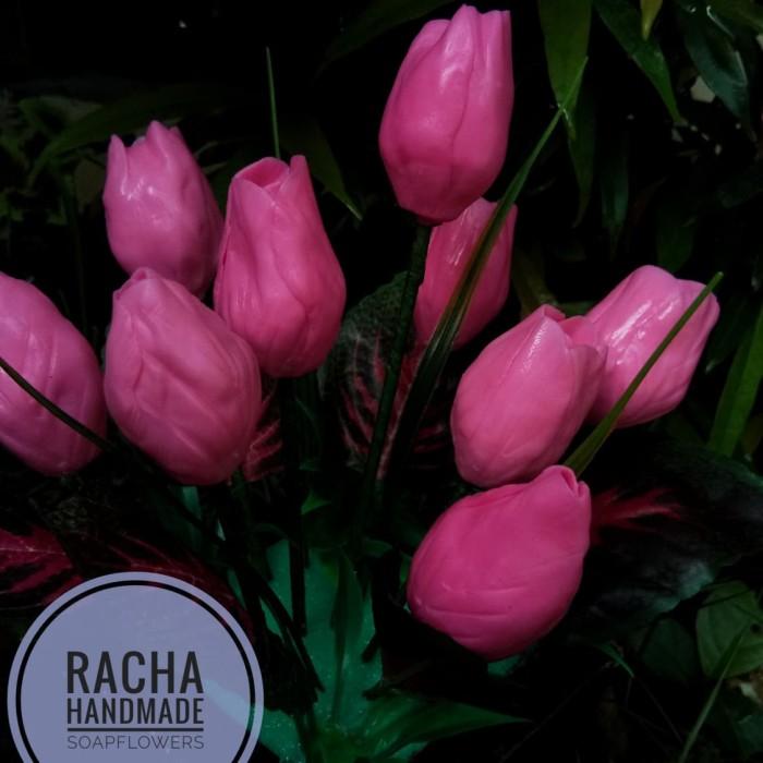 Jual Kreasi Handmade Bunga Tulip Dari Sabun Kab Badung Racha Bunga Sabun Tokopedia