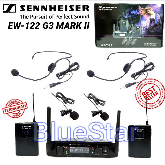 harga Mic wireless sennheiser ew 122 g3 mark ii headset - jepit Tokopedia.com