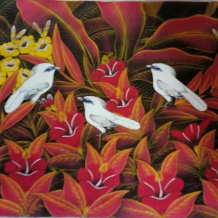 harga Lukisan burung jalak putih 60x80 model 10 Tokopedia.com
