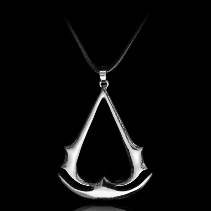 Jual Cospaly Jewelry Assassins Creed Necklace Alloy Pendant