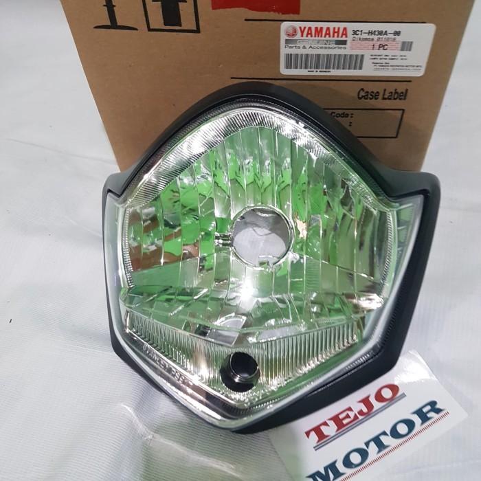 harga Reflektor lampu depan vixion tahun 2010-2011 original Tokopedia.com