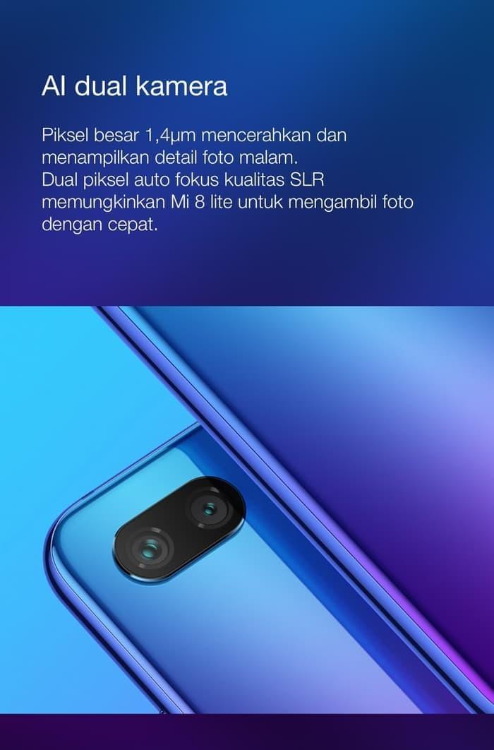 harga Xiaomi mi 8 lite garansi tam Tokopedia.com