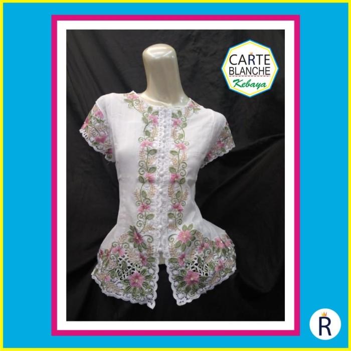 Jual Baju Kebaya Carte Blanche Kebaya Modern Size SM-ML 8195b0f02e