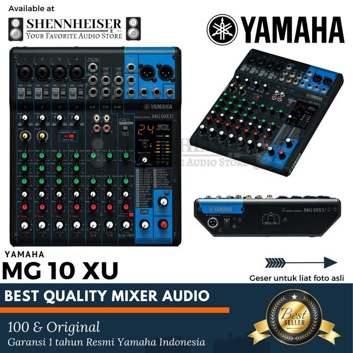 harga Mixer yamaha mg 10 xu original garansi resmi yamaha indonesia Tokopedia.com