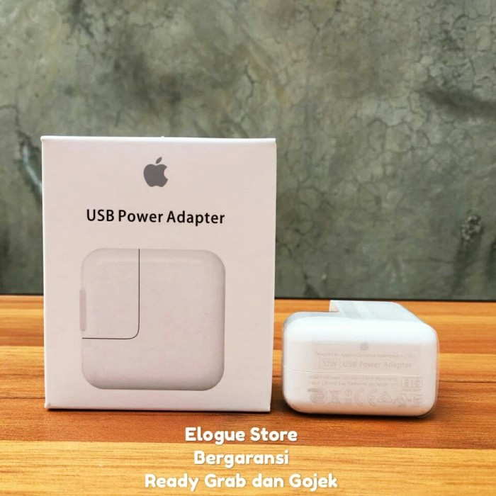 harga Original charger 12w new ipad iphone air mini 2 3 4 5 6 7 retina pro Tokopedia.com