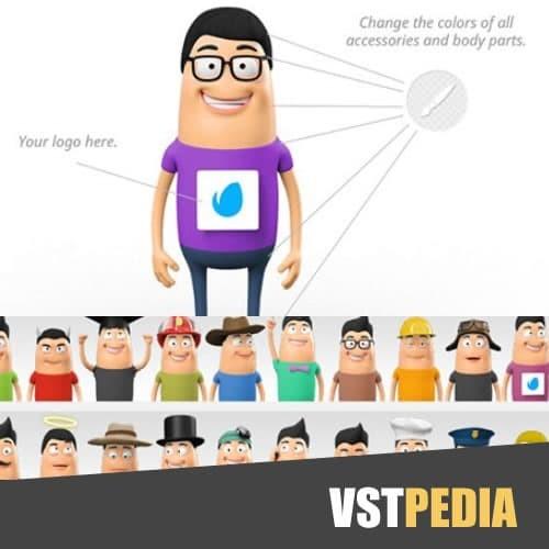 Jual Character animation DIY KIT template after effect - Kab  Situbondo -  Radja wordpress | Tokopedia