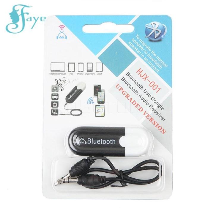 Hjx-001 Adapter Receiver Audio Stereo Wireless Usb Untuk Mobil