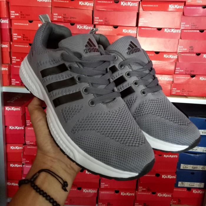 Sepatu Adidas Abu Abu Original 3