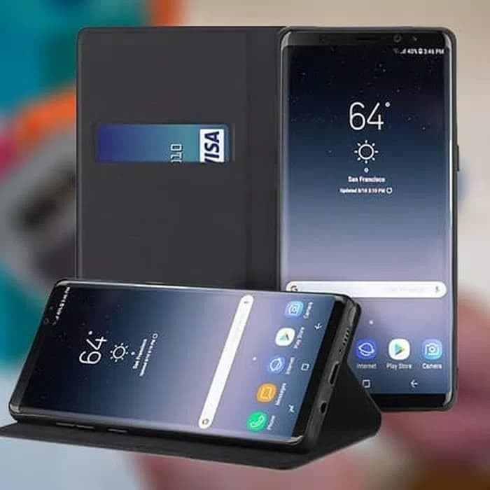 detailed look 3224c f22fc Jual Flip Case wallet Samsung Galaxy A5 A5 2017 Clear View Standing Cover -  Jakarta Utara - Vinvend ACC   Tokopedia