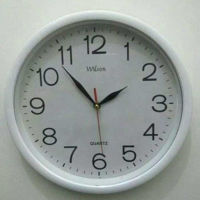 Jam dinding murah bagus diameter besar mesin sweep movement 854ef21a59