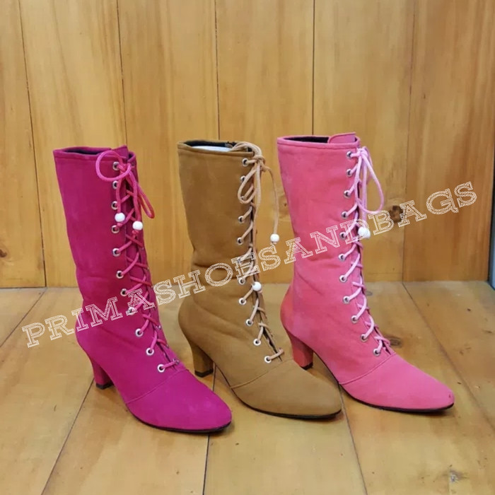 harga Sepatu boots anak fashion (pink) Tokopedia.com
