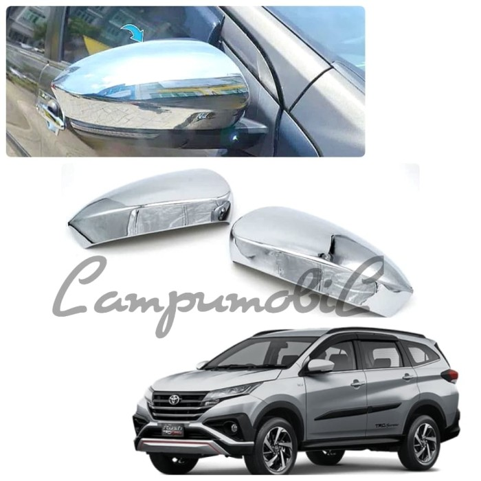 harga Cover spion daihatsu all new terios & toyota all new rush 2018 onward Tokopedia.com