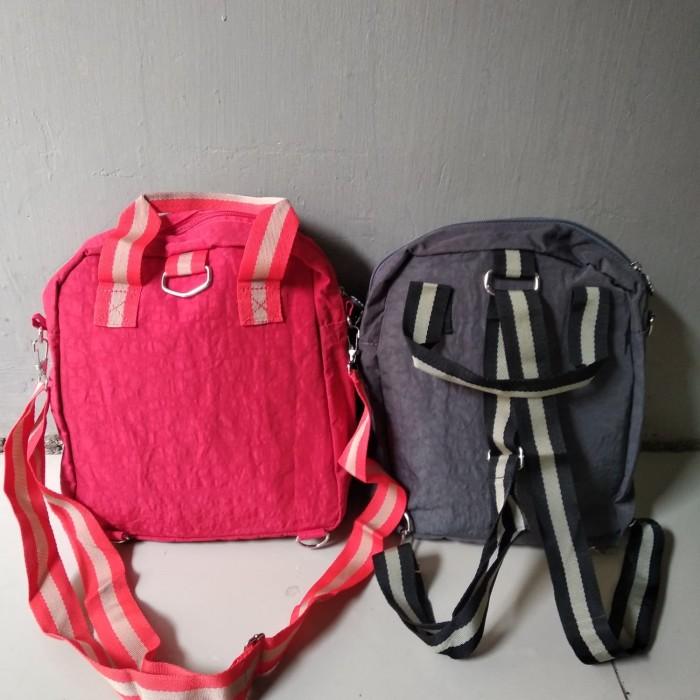 Jual tas kipling 3 in 1 bisa selempang ransel dan di tenteng ... 9f579ef7fd