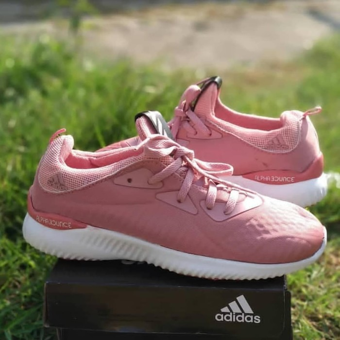 adidas alphabounce peach