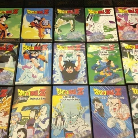 Jual Dvd Dragon Ball Complete Collection Kab Banyuwangi