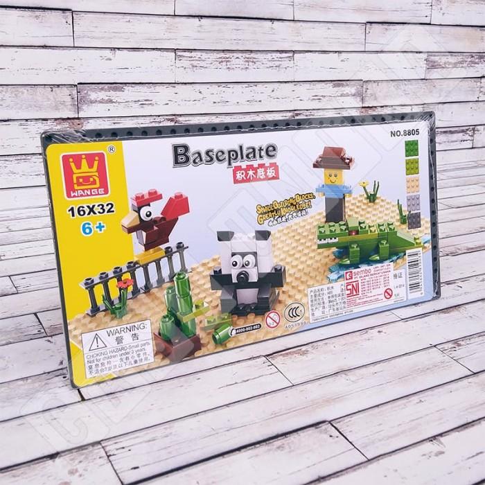 harga Mini baseplate 16x32 stud - alas brick lego wange 8805 Tokopedia.com