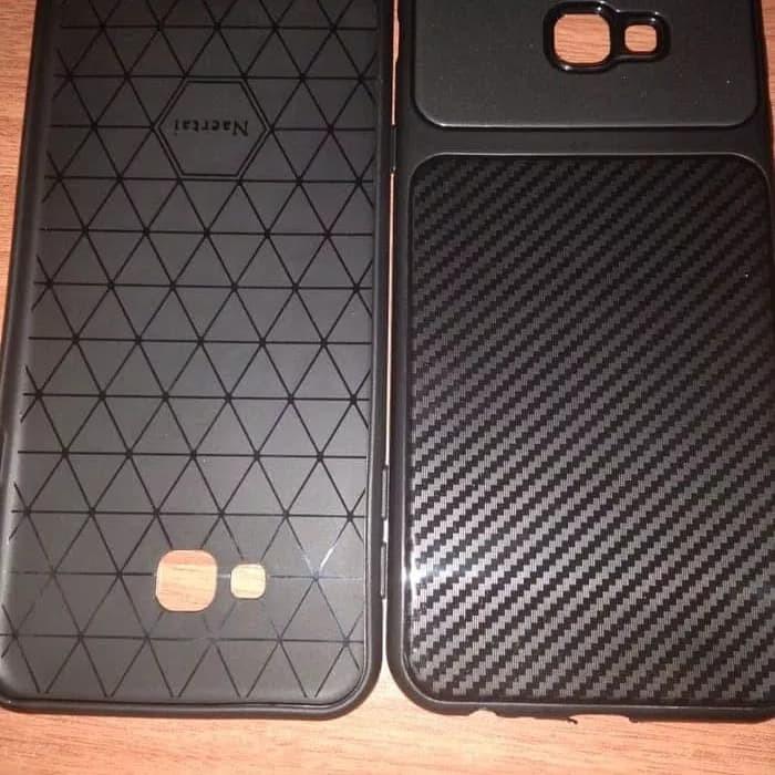 Case Samsung J4 Plus J4 Prime 2018 Softcase AutoFocus Carbon Ipaky - Hitam