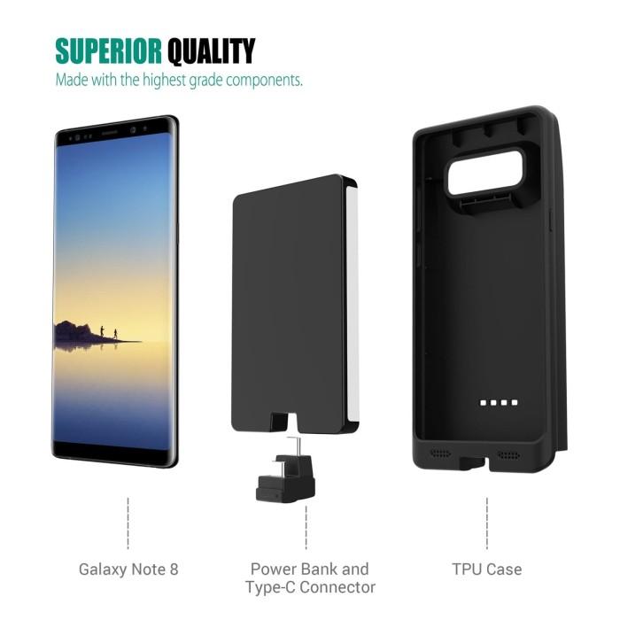 new arrival 572ba 5bd88 Jual Zerolemon Samsung Note 8 Battery Case/ Extender Power Case 10.000 mAh  - Kota Malang - Zerolemon shop | Tokopedia