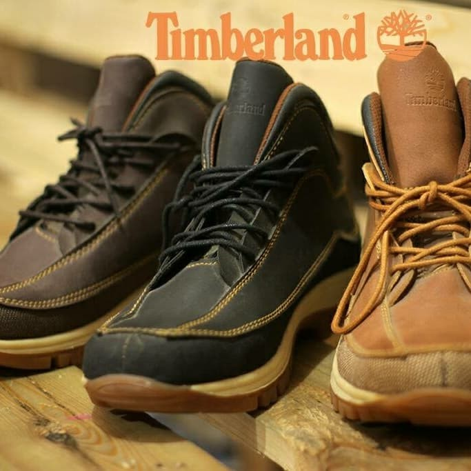Jual sepatu boots safety timberland tan rubicon Harga MURAH   Beli ... 8386df81dd